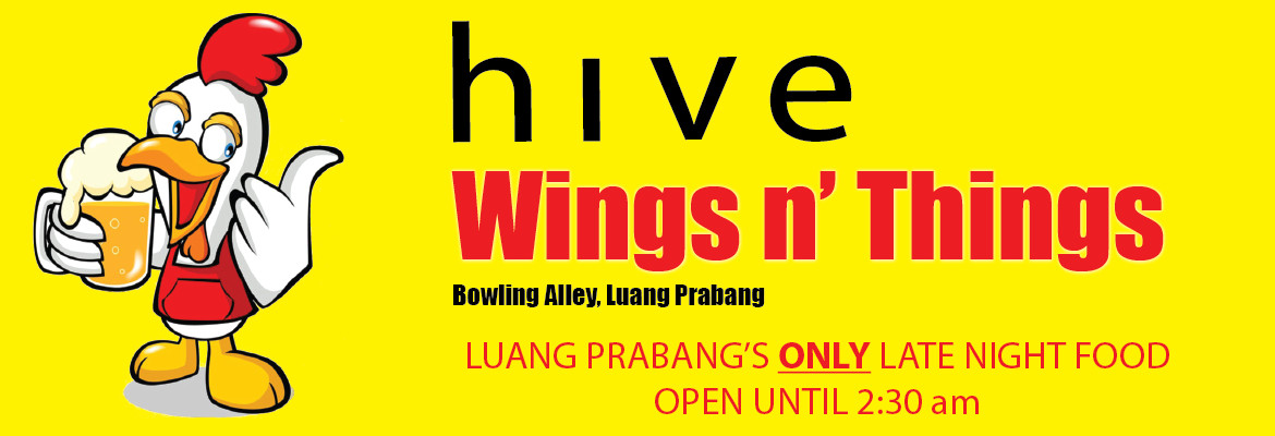 Wing and Things by Hive Bar Laos